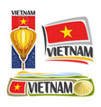 logo vietnam vector image