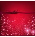 Red beautiful Christmas background vector image vector image
