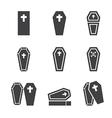 casket icon vector image