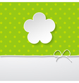 greeting card or an albums cover vector image
