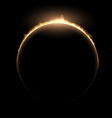 eclipse Stock vector image
