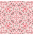pink Seamless abstract tiled pattern vector image