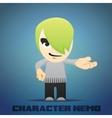 Cartoon Character Nemo vector image vector image
