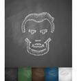Lincoln icon Hand drawn vector image