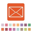 The email icon Mail symbol vector image
