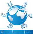World Money vector image