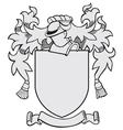 aristocratic emblem No26 vector image