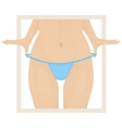 hair removal vector image