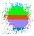 Colorful Blot vector image vector image