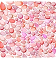 seamless pink red blinking glitter background vector image
