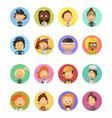 People Profession Cartoon Avatars Set vector image