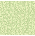 Dollars Pattern American Banknotes US Currency vector image