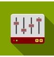 Sound mixer icon vector image