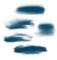 Splash brush strokes background vector image