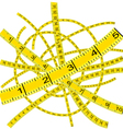 measuring tape vector image vector image