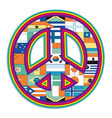symbol of peace vector image
