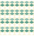 Turquoise retro patterns vector image