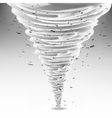 Tornado Swirl Wheather Disaster Hurrigane vector image