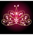 Jewels Tiara vector image