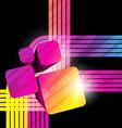 abstract shape background design artwork vector image