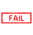 Office stamp fail vector image