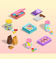 confectionery packaging set vector image