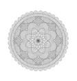 mandala coloring book for adults vector image