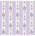 Lavender seamless stripes pattern vector image