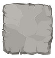 stone rock cartoon broken boulder vector image