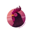The rooster symbol 2017 vector image