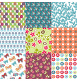 Classic patterns vector image