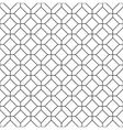 Simple seamless rhombus pattern vector image