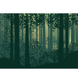 Abstract Forest Landscape 2 vector image