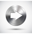 Chrome right button vector image