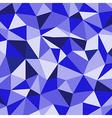 Blue Ice Mosaic Background Creative Business Desi vector image