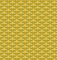 pattern yellow Retro abstract vector image