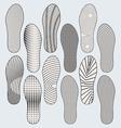 Shoe Soles vector image