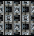 ancient greek key seamless pattern modern vector image