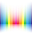 rainbow stripe background vector image