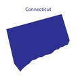United States Connecticut vector image