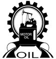 Icon oil industry 1 vector image vector image