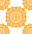 Mandala Patterned Background vector image