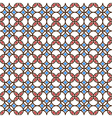 Colored seamless geometric pattern vector image