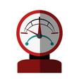 pressure gauge icon imag vector image