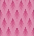 Seamless light pink pattern with rhombus EPS10 vector image