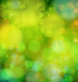Soft blurry background with bokeh effect vector image