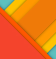 Abstract modern material design background vector image