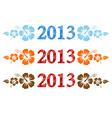 2013 aloha vector image