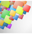 Colorful Squares Background vector image