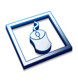 mouse cursors icon vector image